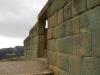 De toegang tot de tempel