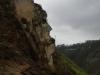 Spot het gezicht in de rotsen