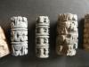 Oude rollen die werden gebruikt voor het maken van patronen