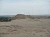 Huaca del sol gezien vanuit Huaca de la luna