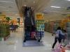 Een supermarkt met roltrap, een primeur voor mij!
