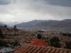 En dan ben ik er, het uitzicht vanaf mijn kamer
