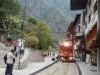 Terug met de trein vanuit Agua Calientes