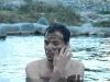 Sandra en haar algenmasker