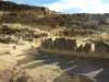 Een rituele plaats van de Inca's