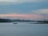 Rio Beni tegen het vallen van de avond