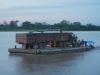 Een vrachtwagen op een boot, geen probleem!