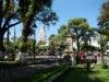 Het centrale plein in Sucre