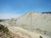 De muur is dus 110 meter hoog en 1200 meter lang