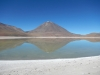 De weerspiegelende werking van the green lagoon