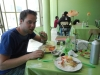 Onze laatste Boliviaanse maaltijd
