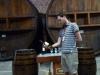 Een andere vinoloog aan het werk, mooi om de meester aan het werk te zien
