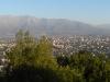 Uitzicht vanaf de bergtop