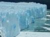 De noordelijke gletsjerwand