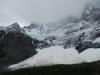 De enorme ijswand die ik gisteren ook al in de verte zag