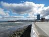 Aan de waterkant in Punta Arenas is dit wat je ziet