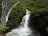 De waterval waar onze wandeling begint