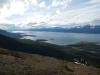 En dan op naar Ushuaia, ergens links achterin aan de overkant