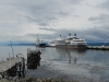 Twee cruiseschepen in de zuidelijkste stad ter wereld