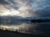 De laatste blik op de haven van Ushuaia