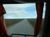 De gravel(hoofd)weg in Chili