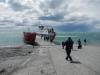 De veerboot, die overigens ook erg lijkt op onze boot tussen Punta Arenas en Puerto Williams