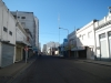 Eerste blik in de verlaten straten