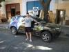 Mijn Braziliaanse vriend met zijn auto