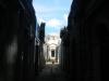 Donkere en obscure steegjes van oude graftombes