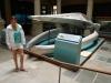 Renee en de schedel van een 28 meter lange walvis
