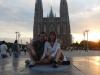 Samen op de middensteen van La Plata