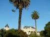 Plaza San Martin met zijn palmbomen