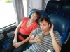 Mate de jugo in de bus naar Rosario