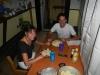 Het ontbijt in het hostel in Rosario