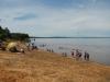 Het strandje aan de rivier