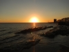 Een echte Montevideaanse zonsondergang