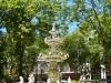 Nog een fonteintje op een ander plein, wat een rustgevende stad is het toch