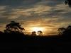De zonsondergang mag er ook zijn