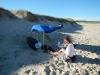 Ons buitenhuisje op het strand