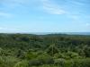 Het uitzicht vanuit de uitkijktoren, een enorm park