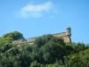 Hoekpuntje van het fort in Santa Teresa Nationaal Park