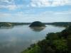 Rechts Brazilië, links Paraguay