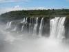 Dit zijn de watervallen van Brazilië, waar we een paar dagen geleden nog stonden