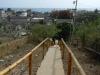 De trap naar de school die ik 38 keer beklommen heb