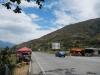 Stukje weg in Ecuador