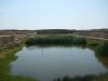 Het grote water midden in Chan Chan
