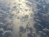 wolkenlucht vanuit het vliegtuig