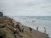 Klein strand van MontanitaMontanita wanneer het maximaal vloed is