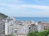 Het uitzicht vanaf het dakterras van ons hostel in Leme. Het is een soort van favela met krotwoningen, maar daar bevalt het ons prima!